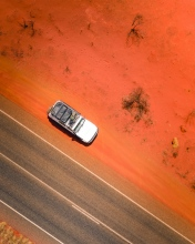 Red Center - Mereenie Loop - Australia - Drone photo