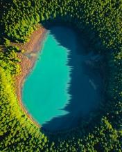 Lagoa do Canario - Azores (Portugal) - Drone photo