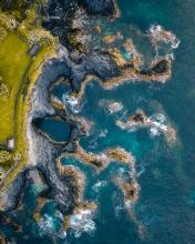 Caloura  - Azores (Portugal) - Drone photo