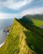 Corvo - Azores (Portugal) - Drone photo