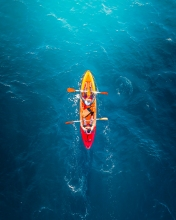 Kayak - Azores (Portugal) - Drone photo