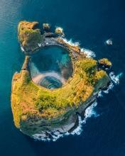 Island of Vila Franca  - Azores (Portugal) - Drone trip