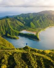 Lagoa do Fogo - Azores (Portugal) - Drone trip