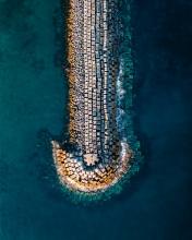 Povoação pier - Azores (Portugal) - Drone trip