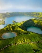 Sete Cidades - Azores (Portugal) - Drone trip
