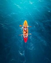 Kayak - Azores (Portugal) - Drone trip