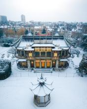 Chinese Pavilion - Belgium - Drone photo