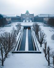 Cinquantenaire - Belgium - Drone photo