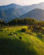 Mountain apero - Colombia - Drone photo