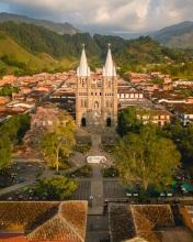 Jardin - Colombia - Drone photo