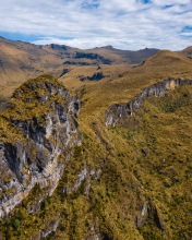 Nevados mountains - Colombia - Drone photo