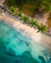 Baru - Colombia - Drone photo