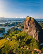 Guatape - Colombia - Drone photo