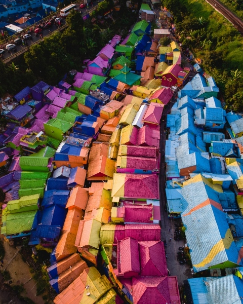 Malang - Indonesia - Drone photo