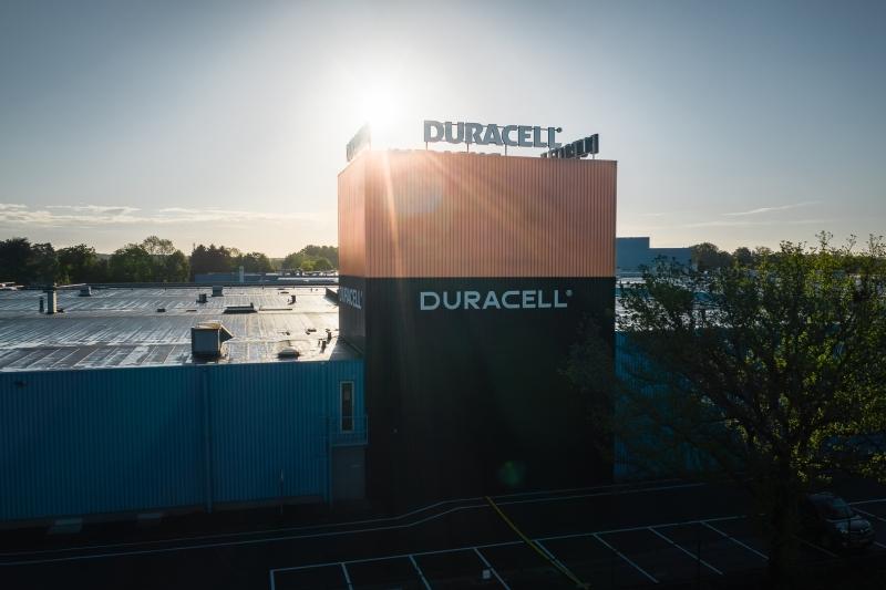 Duracell factory - Aarschot, Belgium - Drone photo