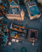 Lille - France - Drone photo