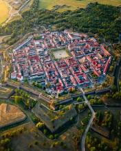 Neuf-Brisach - France - Drone photo