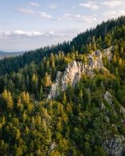 Lac Blanc - France - Drone photo