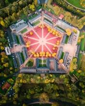 Lille Citadelle - France - Drone photo