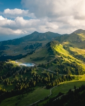 Alps - France - Drone photo