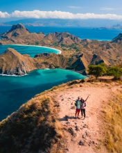 Padar island - Komodo National Park - Indonesia
