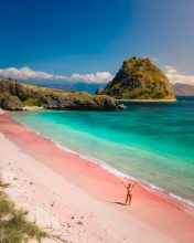 Pink Beach - Komodo National Park - Indonesia