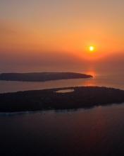 Gili islands - Indonesia - Drone photo