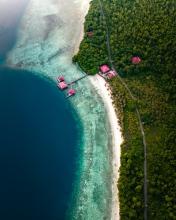 Maratua - Indonesia - Drone photo
