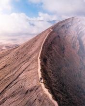 Bromo Volcano - Indonesia - Drone photo