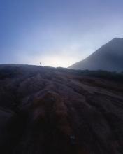 Ijen Volcano - Indonesia - Drone photo