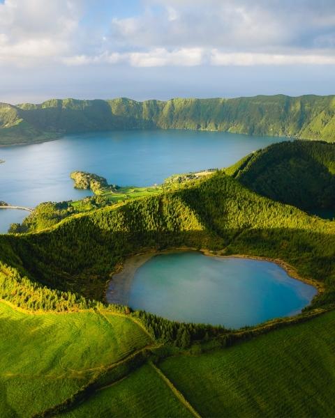 Yoga & Nature retreat - the Azores - Drone photo