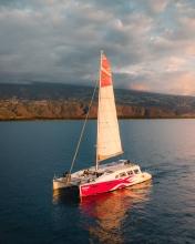 Catamaran - La Réunion (France) - Drone photo