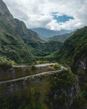 Cilaos - La Réunion (France) - Drone photo