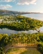 Cocoteraie St-Paul - La Réunion (France) - Drone photo