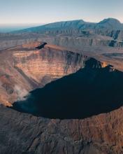 Volcano Piton de la Fournaise - La Réunion (France) - Drone photo