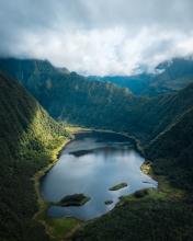 Grand Etang - La Réunion (France) - Drone photo