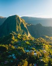Hell-Bourg  - La Réunion (France) - Drone photo