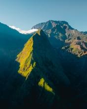 Mafate panorama - La Réunion (France) - Drone photo