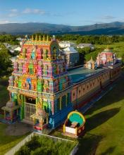 Temple du Colosse - La Réunion (France) - Drone photo
