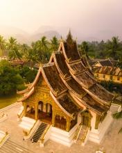 Luang Prabang - Laos - Drone photo