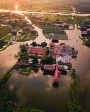 Inle Lake - Myanmar - Drone photo