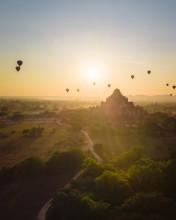Bagan - Myanmar - Drone photo