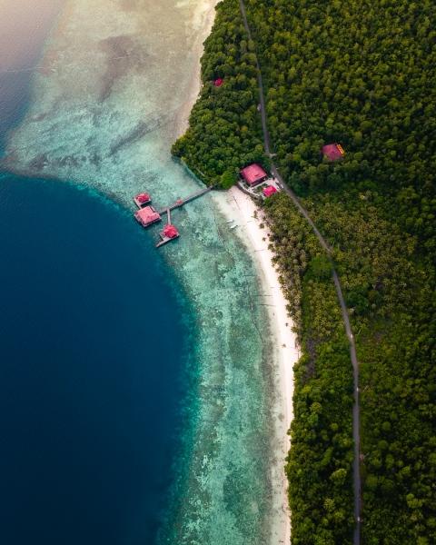 Pratasaba Resort in Maratua, Indonesia