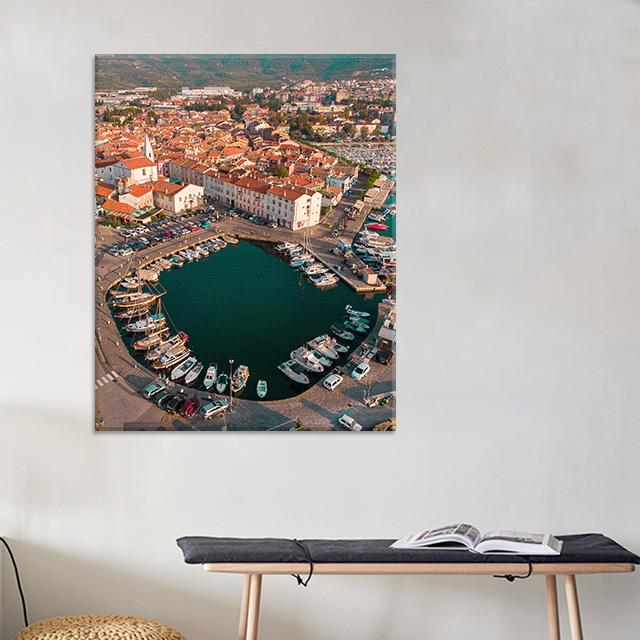City of Izola in Slovenia