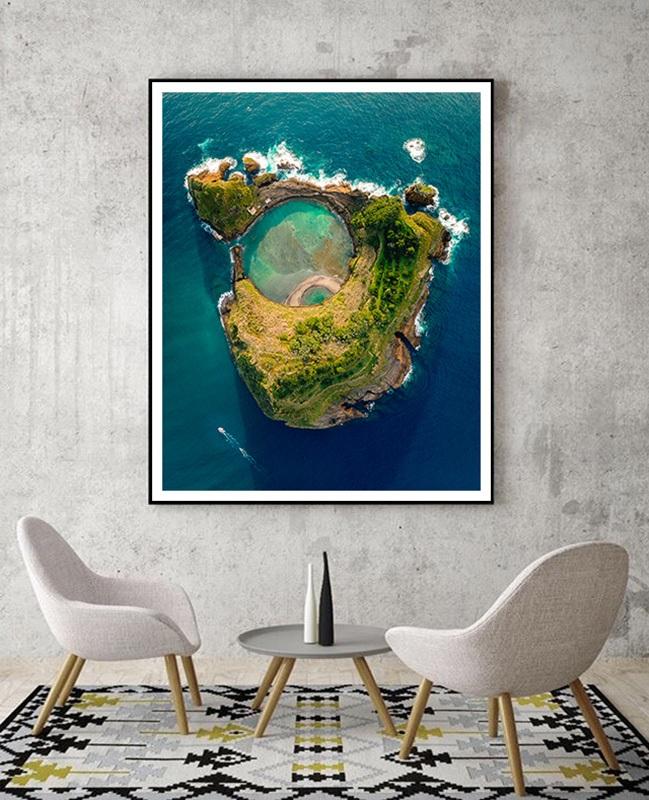 Volcanic island Azores - Portugal