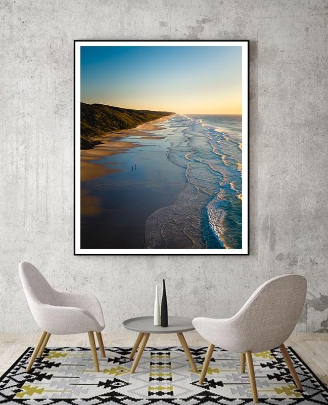 Fraser island beach in Australia