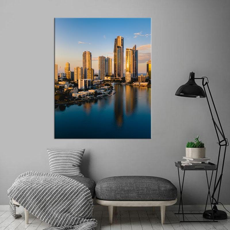 Gold Coast sunset in Australia