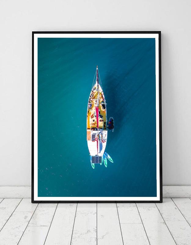 Sailing boat in Australia