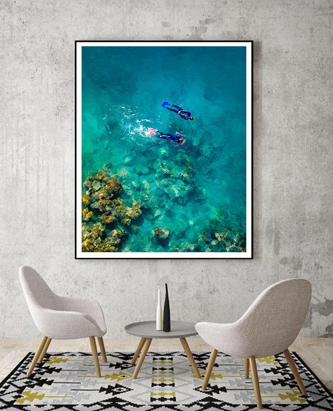 Snorkeling Great Barrier Reef in Australia