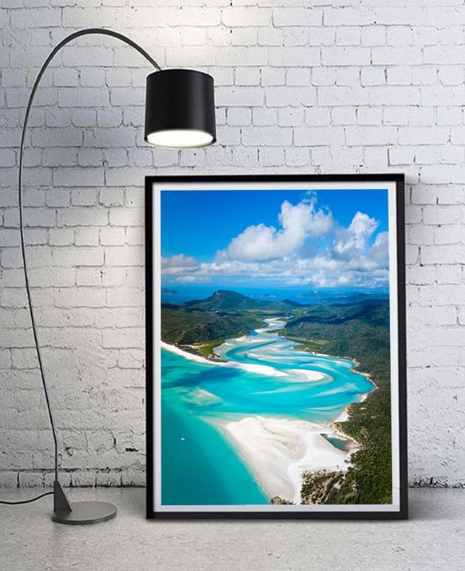 Whitsundays beach in Australia